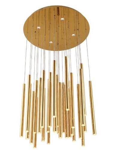 Organické zlato P0242 Závěsná lampa P0242D Max. Světlo
