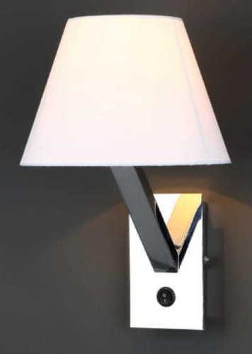 Orlando 5103W / WH CR Nástěnná lampa bílý chrom Max Light