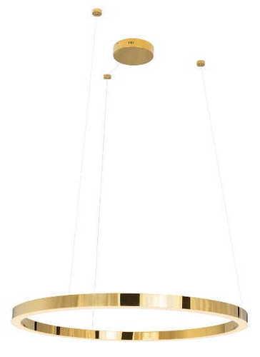 Luxusní závěsná lampa P0370 zlatá, velká P0370D Max Light