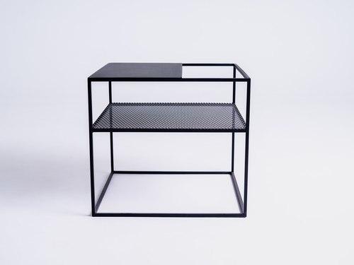 Konferenční stolek MATRIX METAL 50 - černý