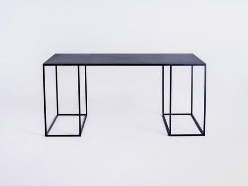 Konferenční stolek TORGET METAL 100X60 - černý