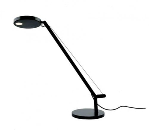 Stolní lampa Artemide Demetra Micro Table Czarna 2700K