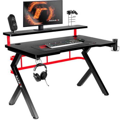Vysoce moderní herní stůl HZ-Hero 5.0 Red