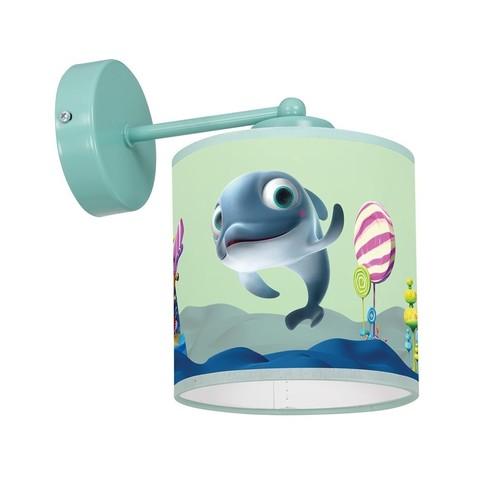 Nástěnná lampa Delfinka Finka Mini 1x E27