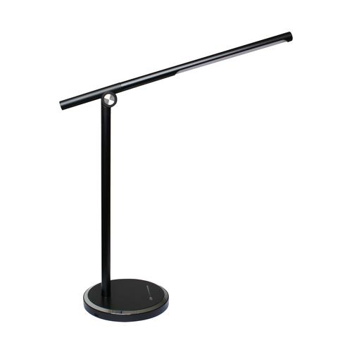 H1816 Stolní lampa černá / černá
