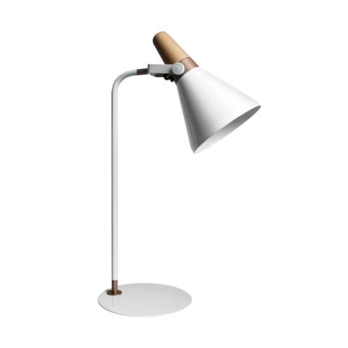 Stolní lampa H1833 bílá / bílá