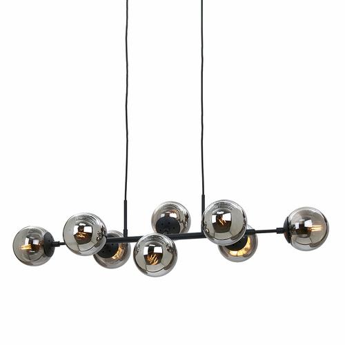 Monterova černá závěsná lampa