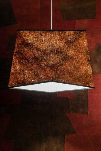 Unikátní závěsná lampa Almasi kora Kyambalo