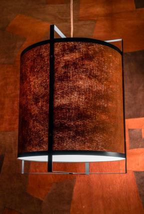 Unikátní závěsná lampa Tatu Bark Kyambalo
