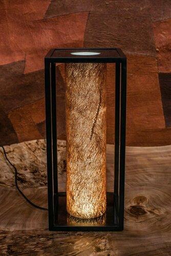 Lůžko / stolní lampa Jioni, kůra Kyambalo