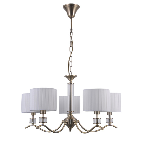 Klasická závěsná lampa Ferlena E14 5-žárovka