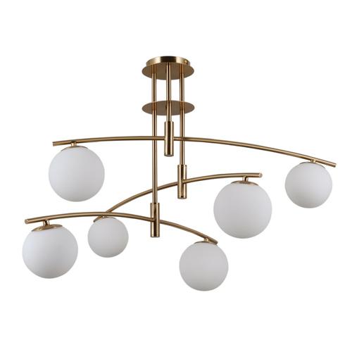 Moderní závěsná lampa 6 žárovka Senai G9