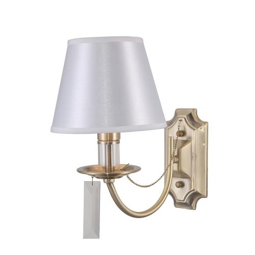 Klasická starožitná nástěnná lampa Solana E14