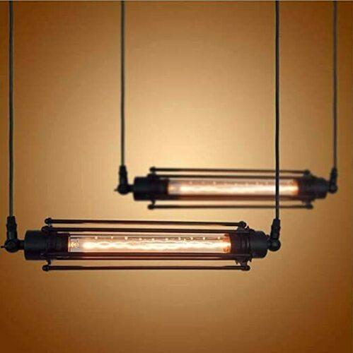 Abigali Retro horizontální závěsná lampa