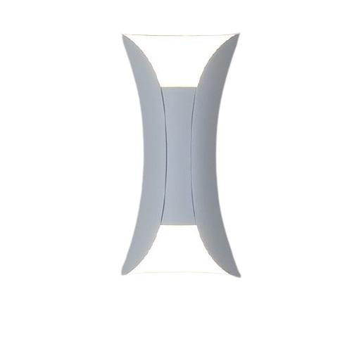 Venkovní nástěnné svítidlo Abigali White IP65 2x5W 3000K