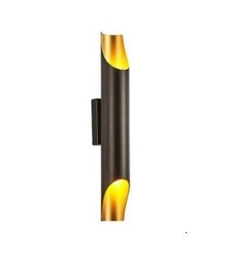 Nástěnná lampa Abigali Straight Gold