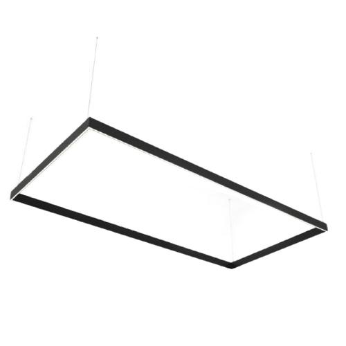 Lineární LED lampa Abigali Rectangle System dvojitý boční obdélník 240x120