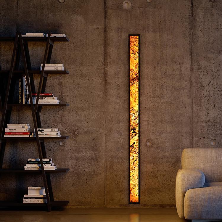Nástěnná lampa Abigali 6611 Marble Stone 606R 28W 3000K