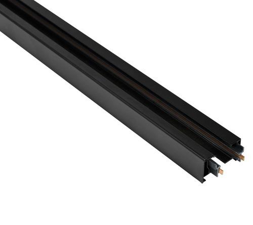 Blaupunkt 1fázová kolejnice STORM, 1 m dlouhá, s koncovkami, černá barva