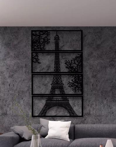 Nástěnná dekorace Eiffelova věž