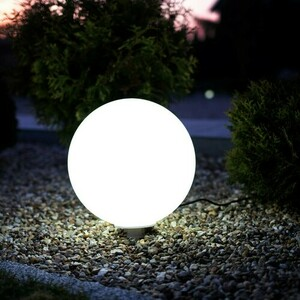 Bílý zahradní míč Fi30 9 W Rgb IP44 small 4
