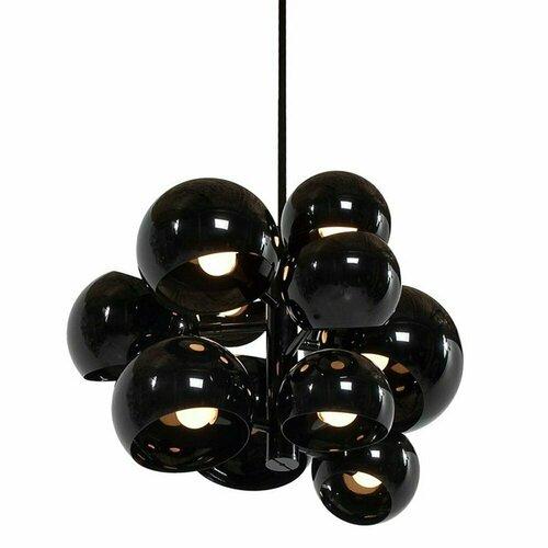 Závěsná lampa ASTRONOMY-11 55 cm černá