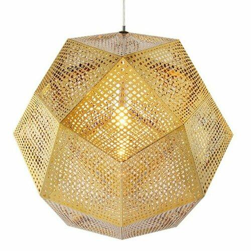 Závěsná lampa FUTURI STAR zlatá 48 cm