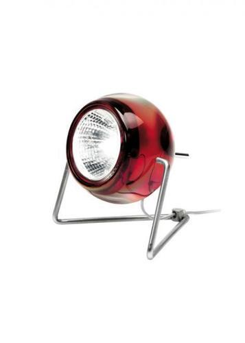 Stolní lampa Fabbian BELUGA D57B0303 Červená