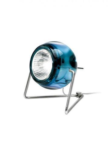Stolní lampa Fabbian BELUGA D57B0331 Modrá