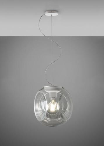 Závěsná lampa Fabbian EYES F34A0100 Průhledná