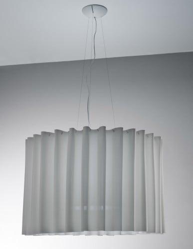 Závěsná lampa AXO Light Skirt 100 SK šedá