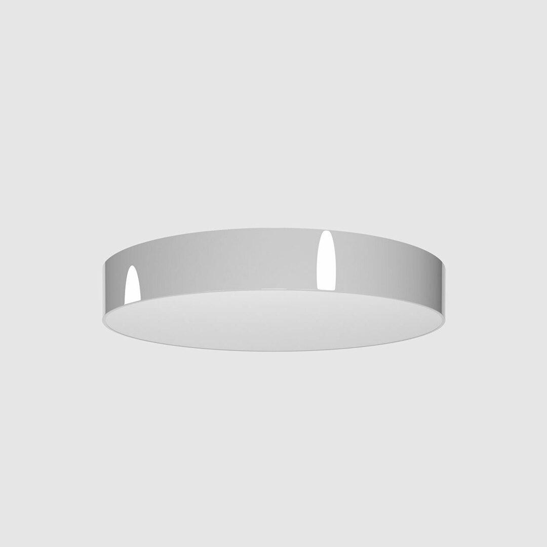 Strop ABA PREMIUM 600, LED PHILIPS LV 49,5W / 6050lm / 3000K / TD, 230V, stříbrný hliník (lesk) RAL 9006