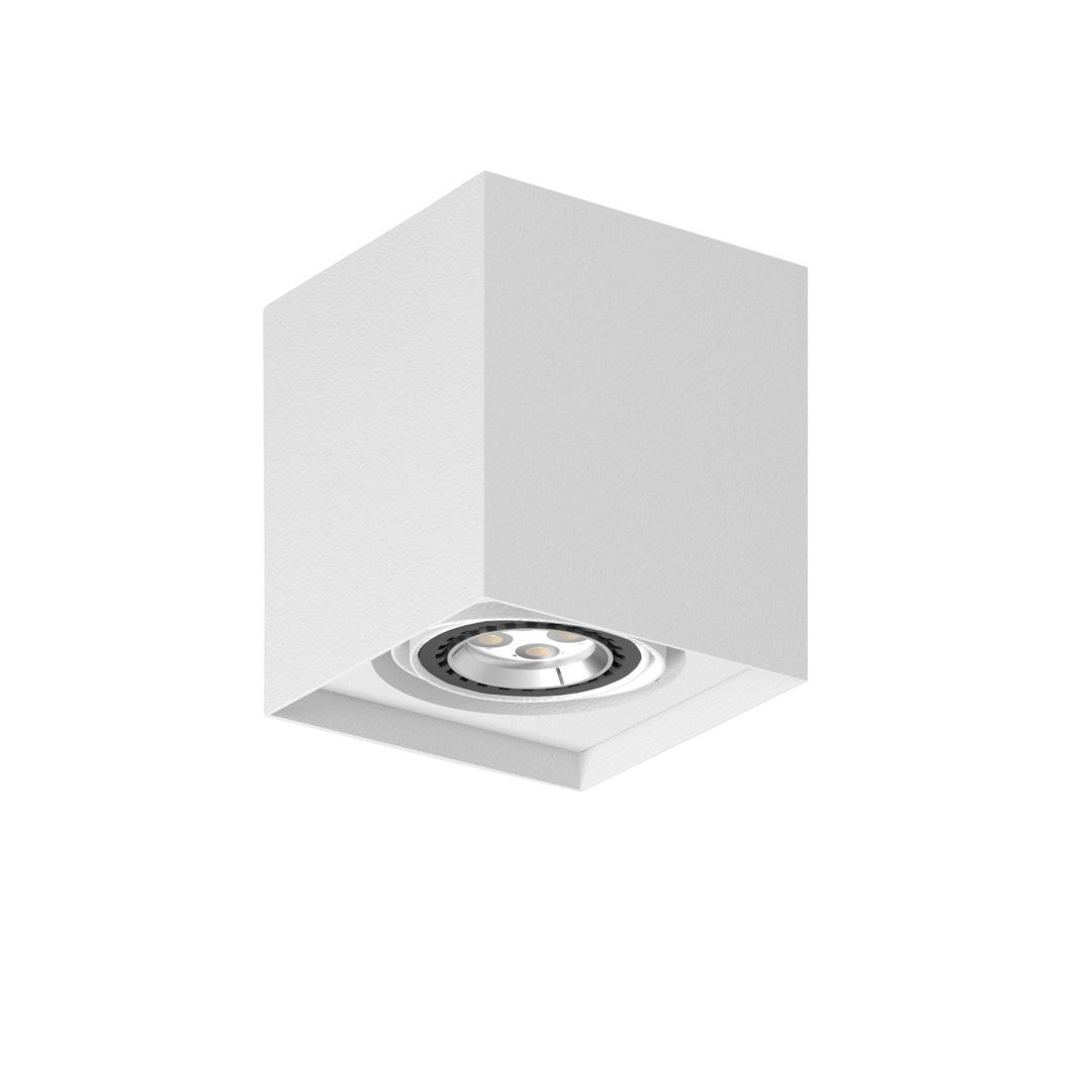 Strop ALEJO S1 max. 1x35W, GU10, 230V, bílá (matná struktura) RAL 9003