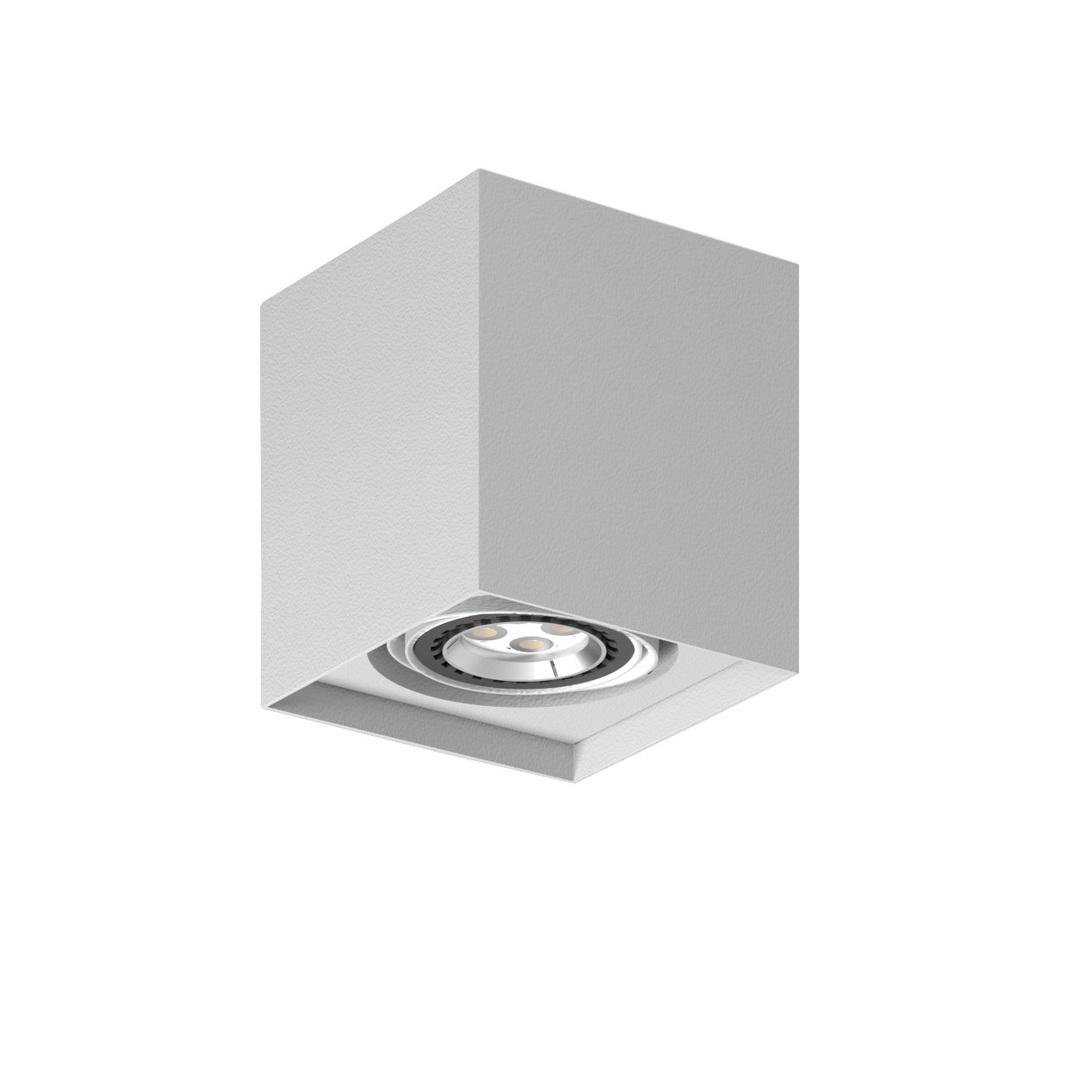 Strop ALEJO S1 max. 1x35W, GU10, 230V, stříbrná hliník (matná struktura) RAL 9006
