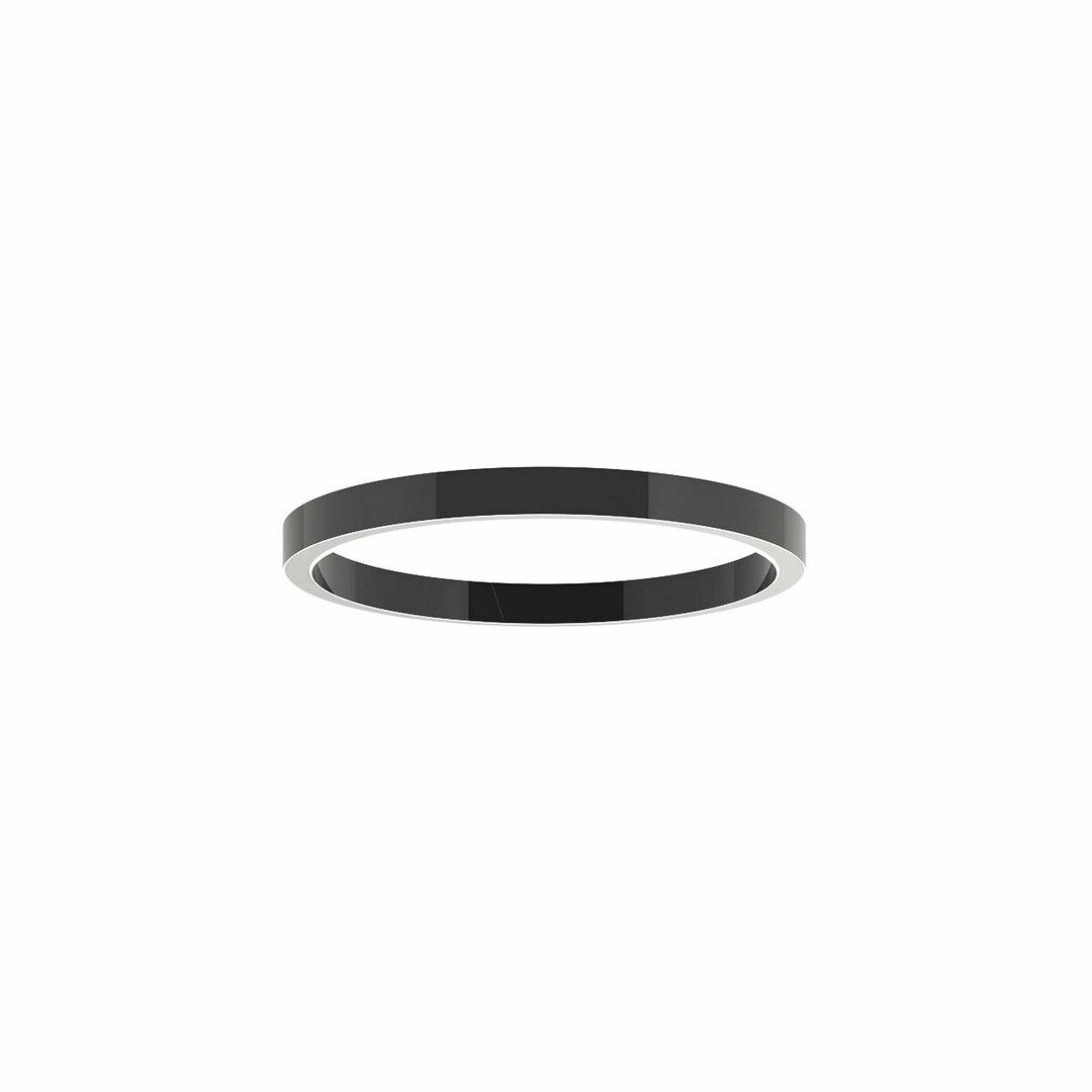 ALFREDO 1000 / U stropní LED PHILIPS LV 69,4W / 10364lm / 3000K, 230V, tmavě černá (lesklá) RAL 9005
