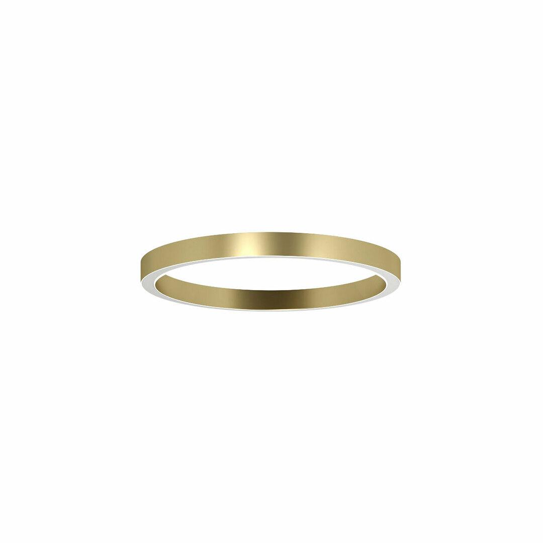 ALFREDO 1000 / U stropní LED PHILIPS LV 69,4W / 11022lm / 4000K, 230V, zlatá barva (hladká rohož)
