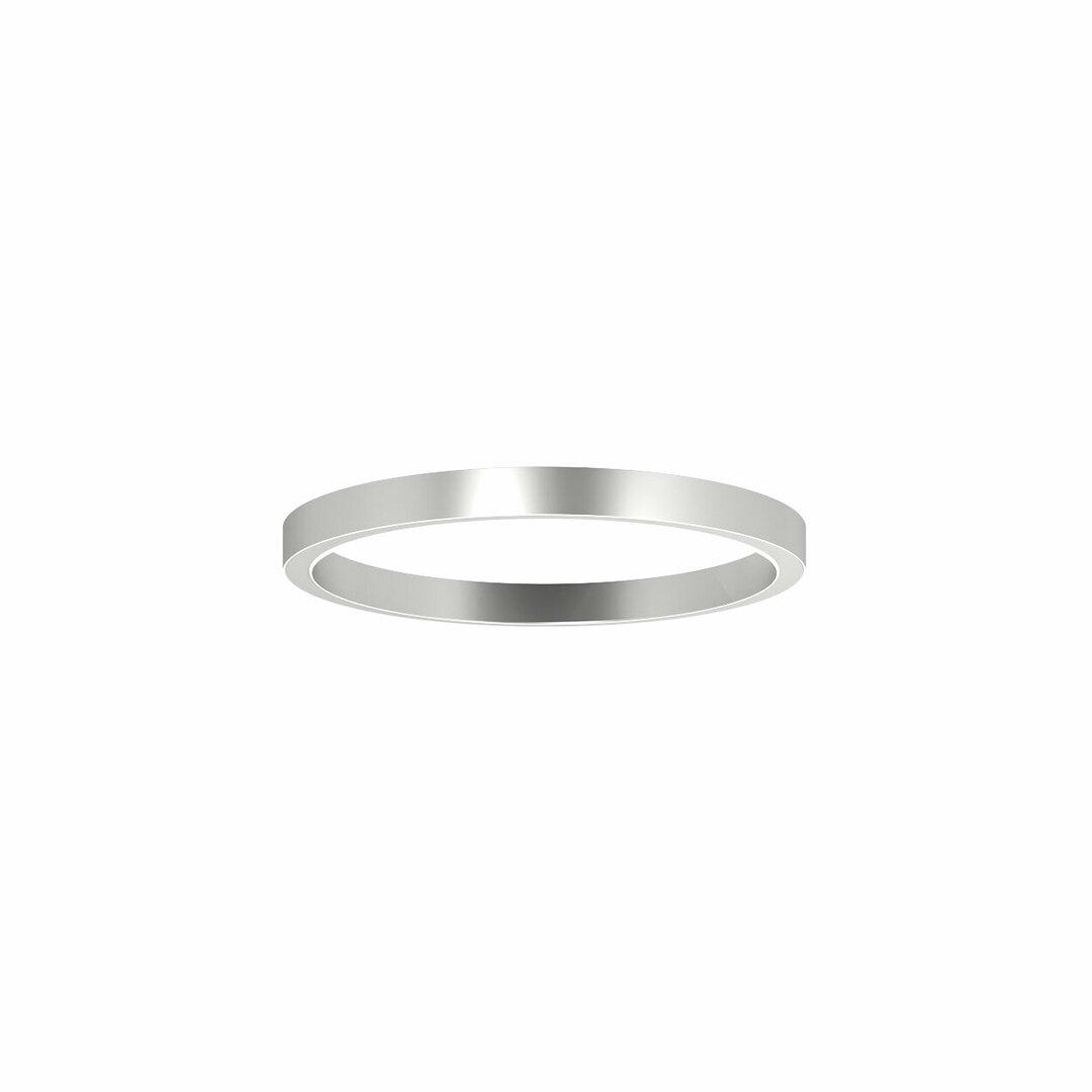ALFREDO 1000 / U stropní LED PHILIPS LV 69,4W / 11022lm / 4000K / TD, 230V, stříbrná barva (hladká rohož)