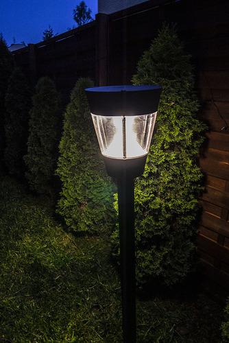 Zahradní lucerna (290mm) - LUNA GARDEN (E27 IP54)