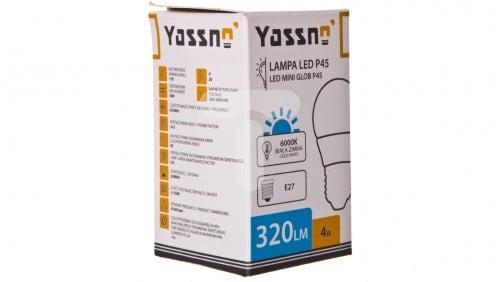 Yasno 4W=30W LED Biały Zimny 6000K E27