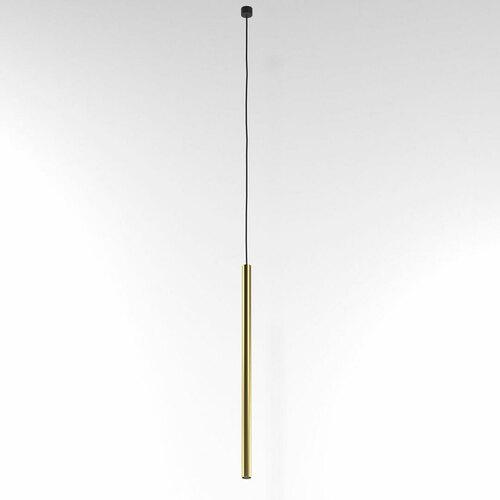 NER 350 visí max. 1x2,5W, G9, 230V, černý drát, zlatá barva (hladká rohož)