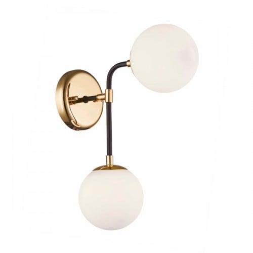LAMPA WEWNĘTRZNA (KINKIET) ZUMA LINE RIANO WALL W0454-02A-SDAA