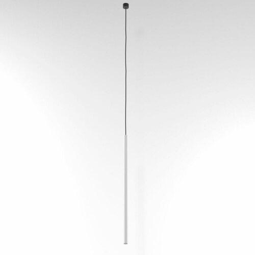 NER 550 visí max. 1x2,5W, G9, 230V, černý vodič, bílý (matná struktura) RAL 9003