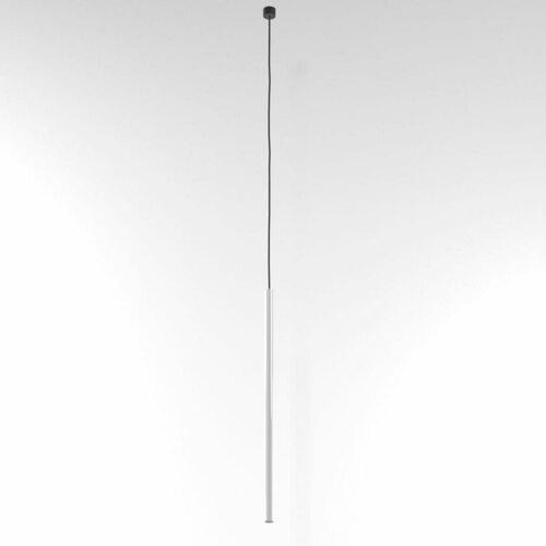 NER 550 visí max. 1x2,5W, G9, 230V, černý vodič, bílý (lesk) RAL 9003