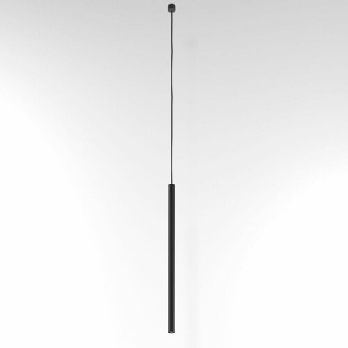 NER 550 visí max. 1x2,5W, G9, 230V, černý vodič, hluboká černá (matná struktura) RAL 9005