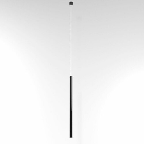 NER 550 visí max. 1x2,5W, G9, 230V, černý vodič, tmavě černý (lesk) RAL 9005