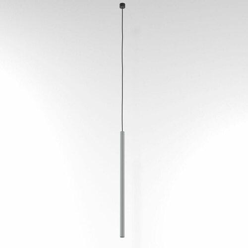 NER 550 visí max. 1x2,5W, G9, 230V, černý vodič, hliníková stříbrná (matná struktura) RAL 9006
