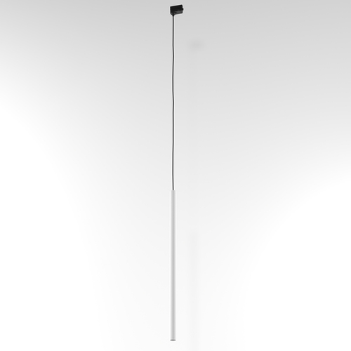 Závěsná dráha NER 600, max. 1x2,5W, G9, 230V, černý vodič, bílý (matný) RAL 9003