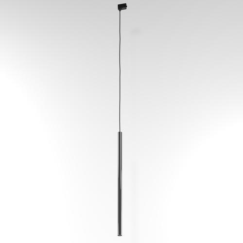 Závěsná dráha NER 600, max. 1x2,5W, G9, 230V, černý drát, grafitově šedá (lesklá) RAL 7024