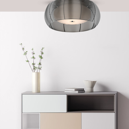 LAMPA WEWNĘTRZNA (SUFITOWA) ZUMA LINE TANGO CEILING MX1104-2L (silver) - Srebrny 2