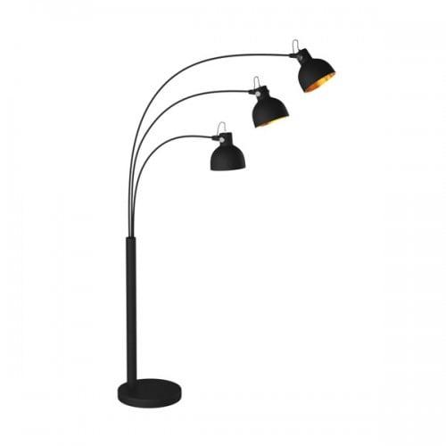 LAMPA WEWNĘTRZNA (PODŁOGOWA) ZUMA LINE ANTENNE FLOOR TS-140123F-BKGO (shade gold inside)